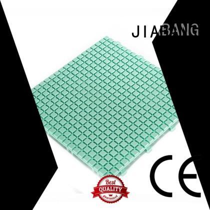 JIABANG plastic wood tiles non-slip for wholesale