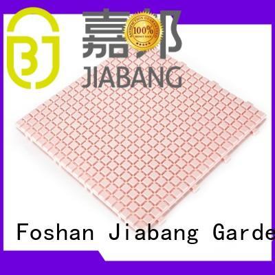 JIABANG bathroom floor interlocking plastic patio tiles high-quality