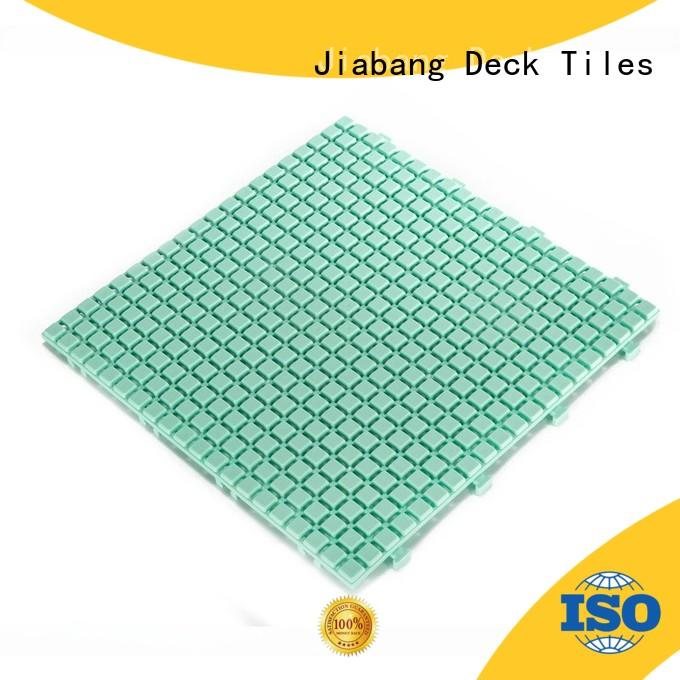 JIABANG plastic mat plastic decking tiles high-quality kitchen flooring