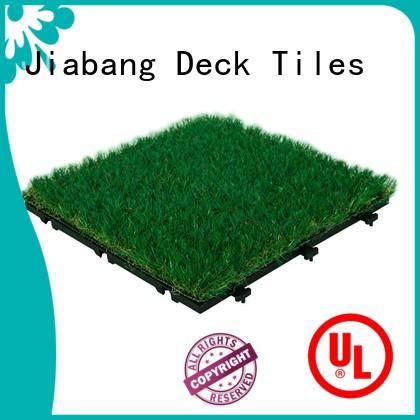 JIABANG wholesale deck tiles on grass on-sale balcony construction