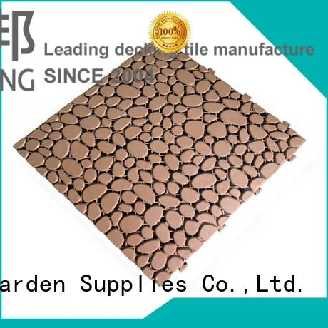 JIABANG flooring plastic decking tiles high-quality for customization