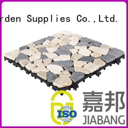 diy travertine marble tile at discount for playground JIABANG