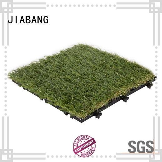 JIABANG anti-bacterial grass tiles easy installation for garden