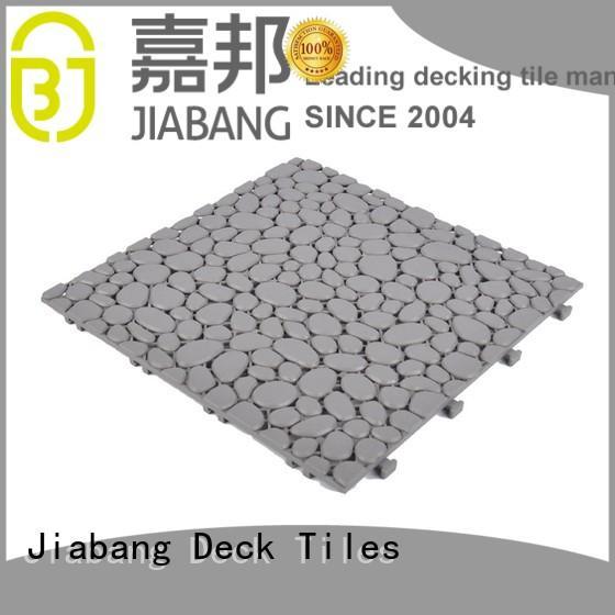 JIABANG plastic mat plastic decking tiles top-selling for wholesale