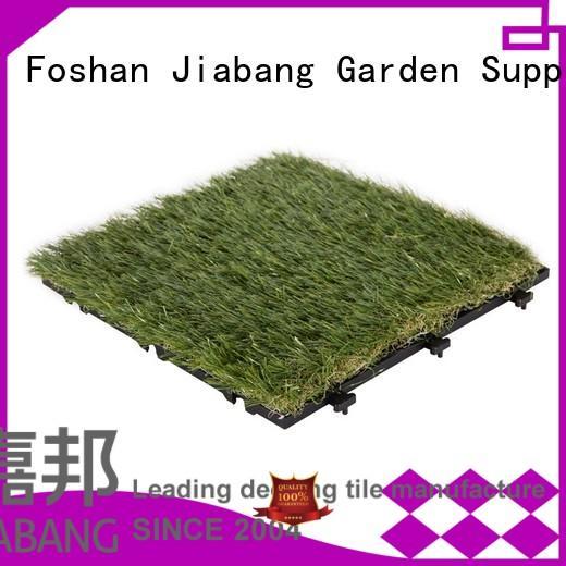 JIABANG Brand turf deck garden custom outdoor grass tiles