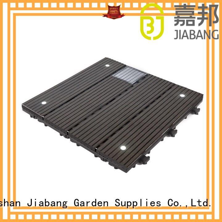 JIABANG snap together deck tiles ground