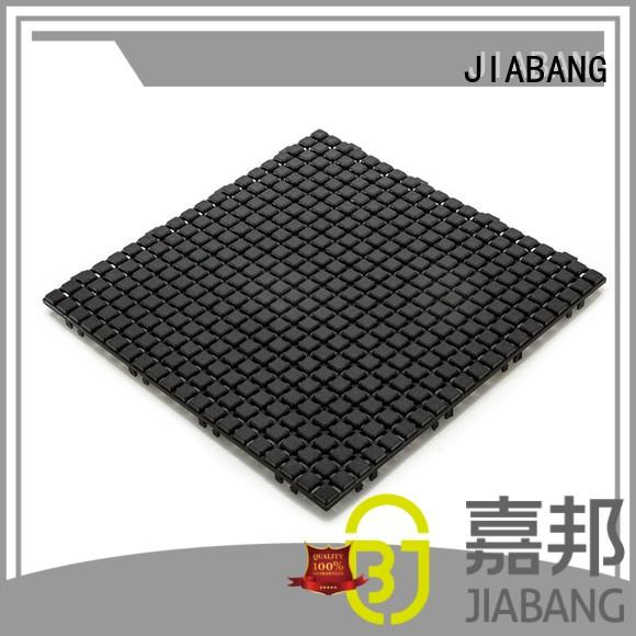 JIABANG plastic mat plastic patio tiles non-slip kitchen flooring