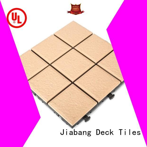 JIABANG OBM porcelain deck tiles custom size for patio decoration