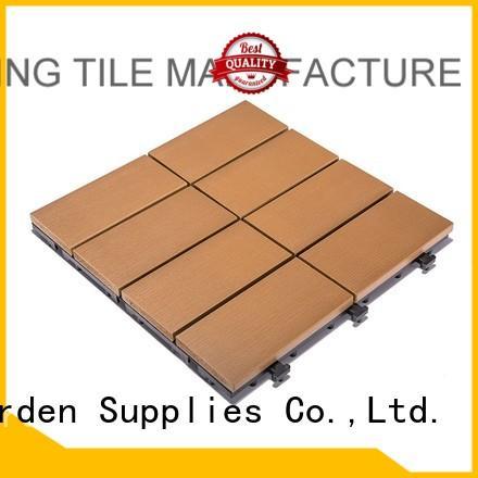 floor lightweight plastic JIABANG Brand plastic decking tiles