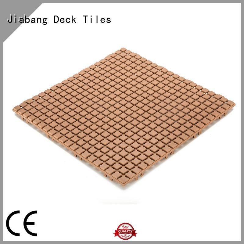 JIABANG flooring wood plastic composite tiles high-quality