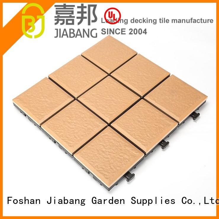 ceramic garden tiles exhibition porcelain patio tiles JIABANG Brand