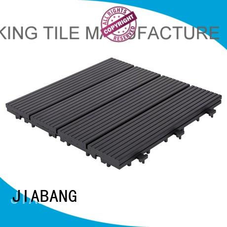 JIABANG high-quality interlocking deck and patio tiles light-weight for wholesale