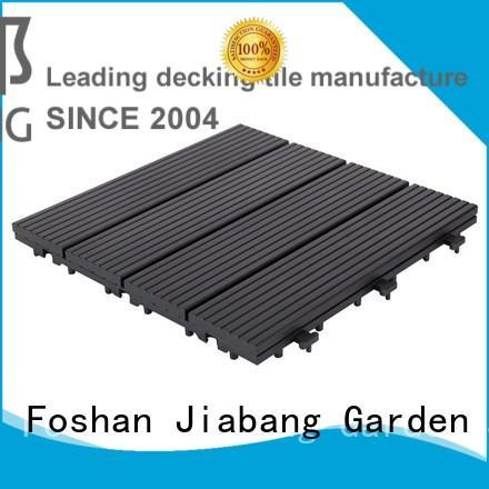 JIABANG interlocking deck and patio tiles light-weight for customization