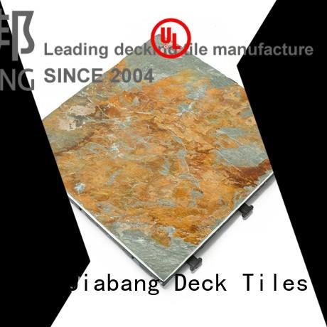 JIABANG interlocking slate deck for patio