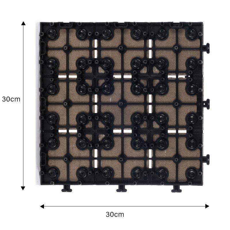 1.0cm ceramic outdoor flooring deck tiles JB5015-2