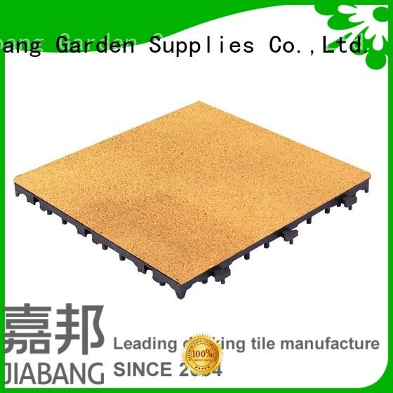 playgrounds interlocking tile JIABANG Brand rubber square tiles manufacture