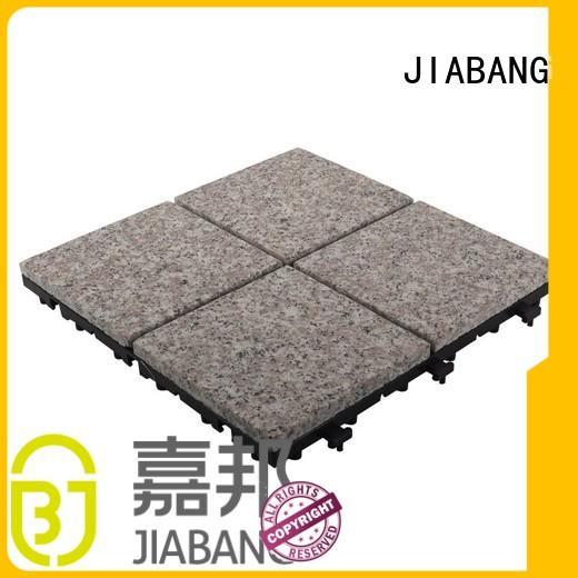 JIABANG custom interlocking granite deck tiles at discount for porch construction