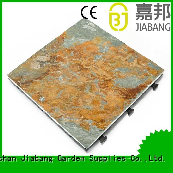 JIABANG slate patio tiles garden decoration floors building
