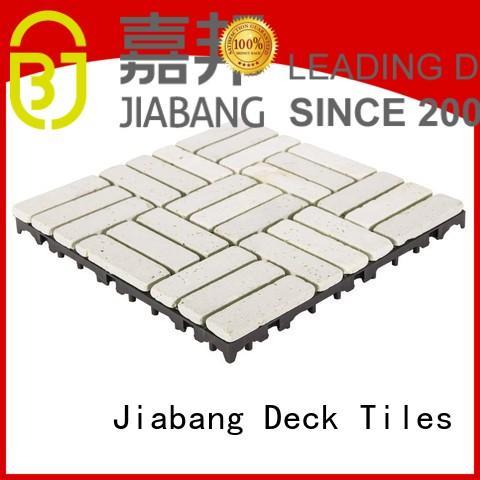 JIABANG Brand 12x12 travertine deck tiles flooring factory