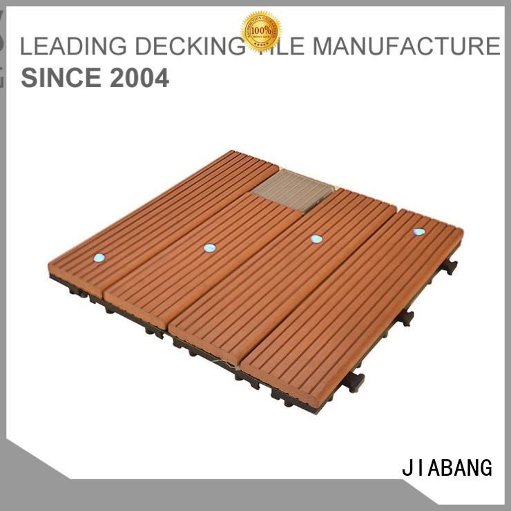 solar light tiles solar balcony deck tiles JIABANG Brand