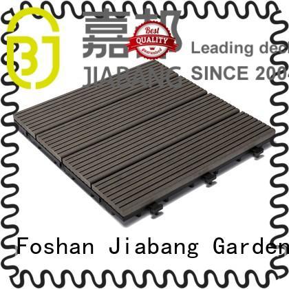 JIABANG outdoor composite wood tiles hot-sale
