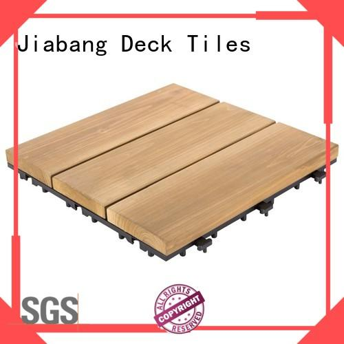natural wooden decking squares flooring wooden floor JIABANG