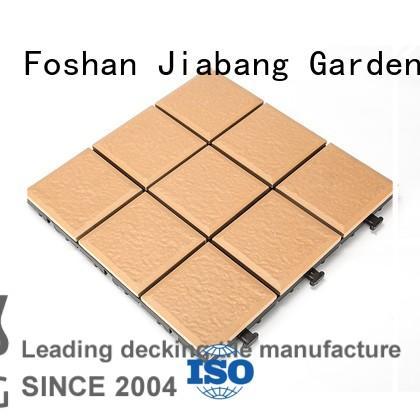 exhibition exterior porcelain floor tiles custom size for patio decoration JIABANG