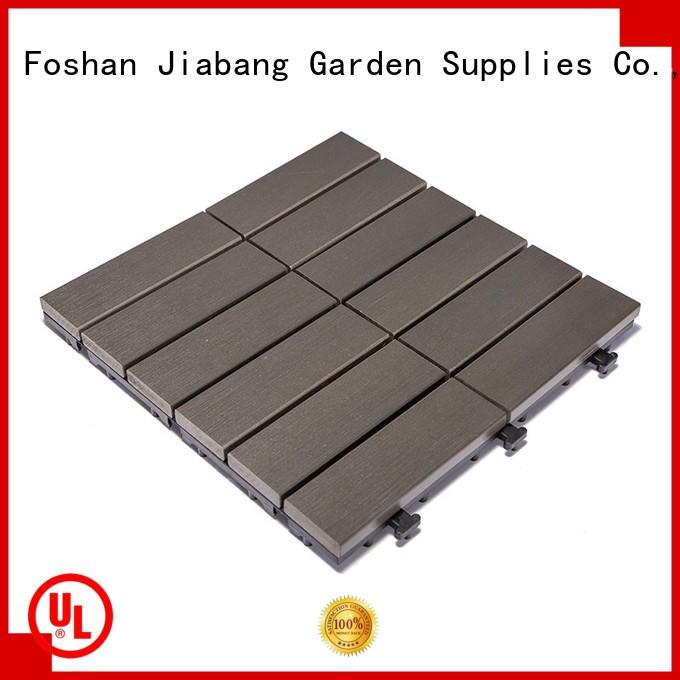 JIABANG wholesale outdoor plastic tiles popular gazebo decoration