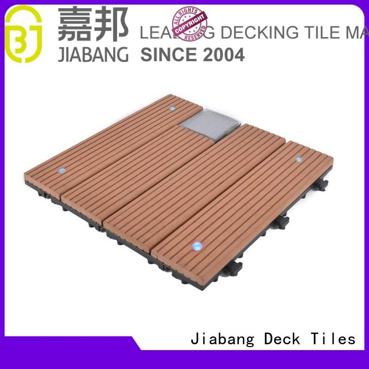 Hot solar light tiles ecofriendly JIABANG Brand