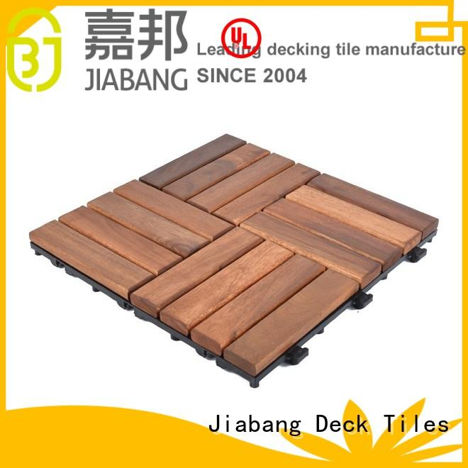 solid wood acacia tile at discount