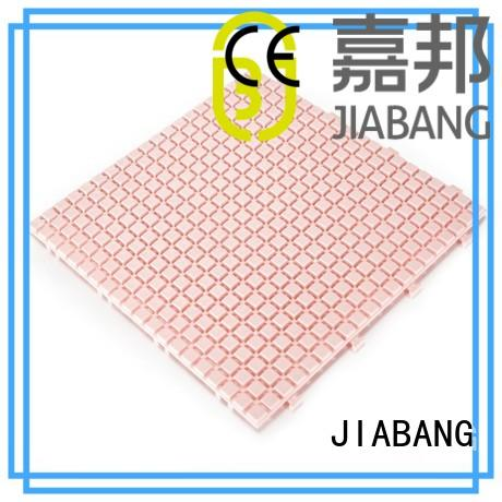 plastic floor tiles kitchen flooring JIABANG