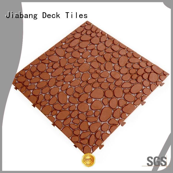 protective plastic floor tiles plastic mat non-slip kitchen flooring