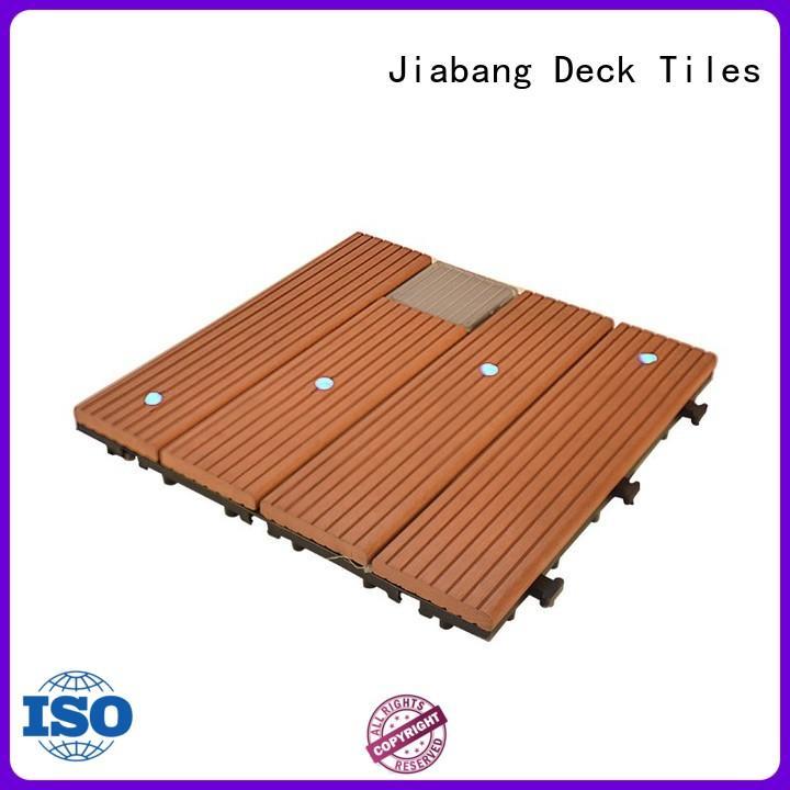 JIABANG eco-friendly balcony deck tiles protective ground
