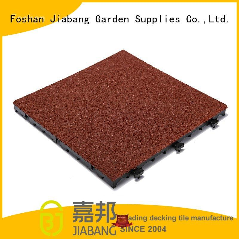flooring interlocking rubber gym mats playground at discount JIABANG