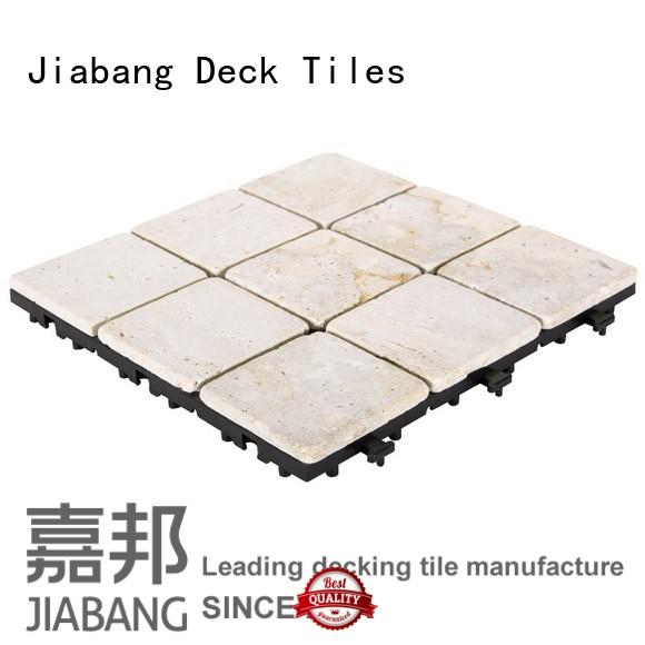 JIABANG outdoor travertine floor tile wholesale for playground