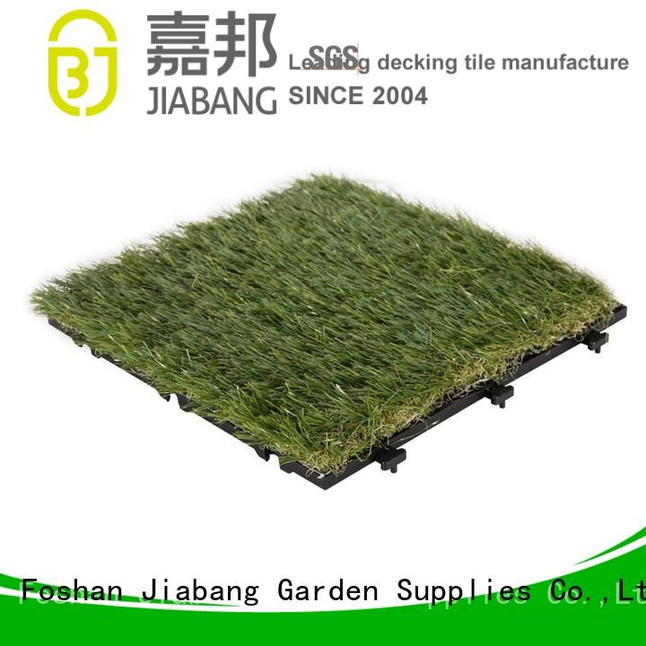 Quality JIABANG Brand outdoor grass tiles permeable deck