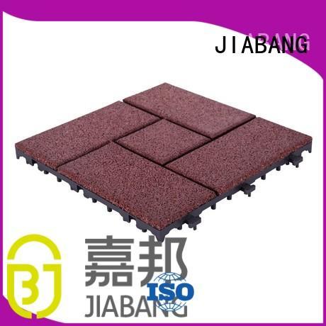rubber mat tiles flooring gymnastics interlocking rubber mats gym JIABANG Brand