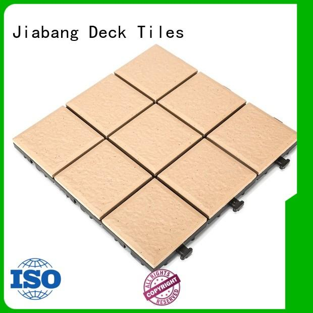 JIABANG porcelain patio tiles cheap price gazebo construction