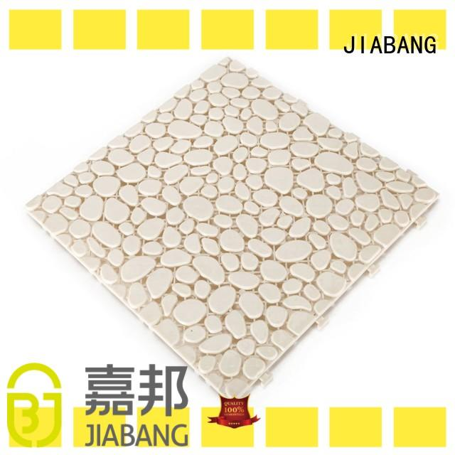 hot-sale interlocking plastic patio tiles bathroom floor non-slip for wholesale