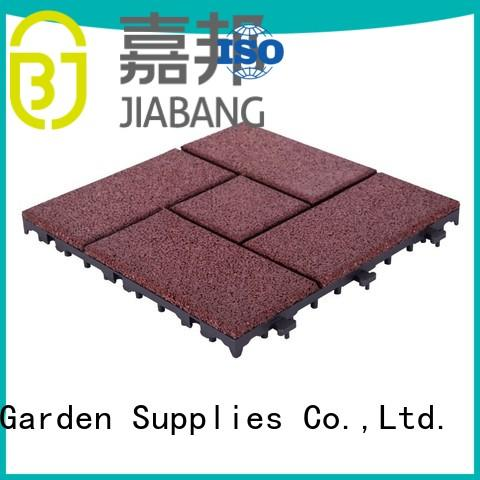 flooring interlocking rubber mats light weight for wholesale JIABANG