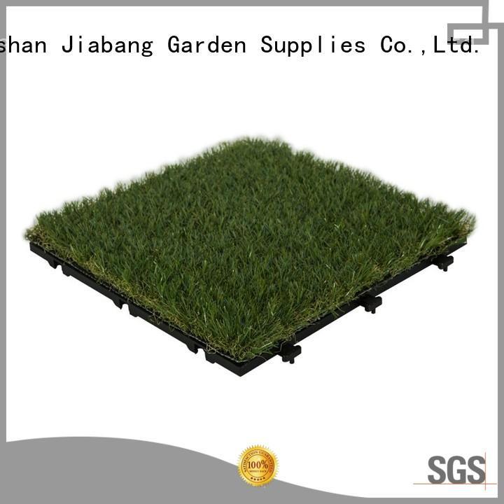 hot-sale interlocking deck tiles on grass landscape garden decoration JIABANG