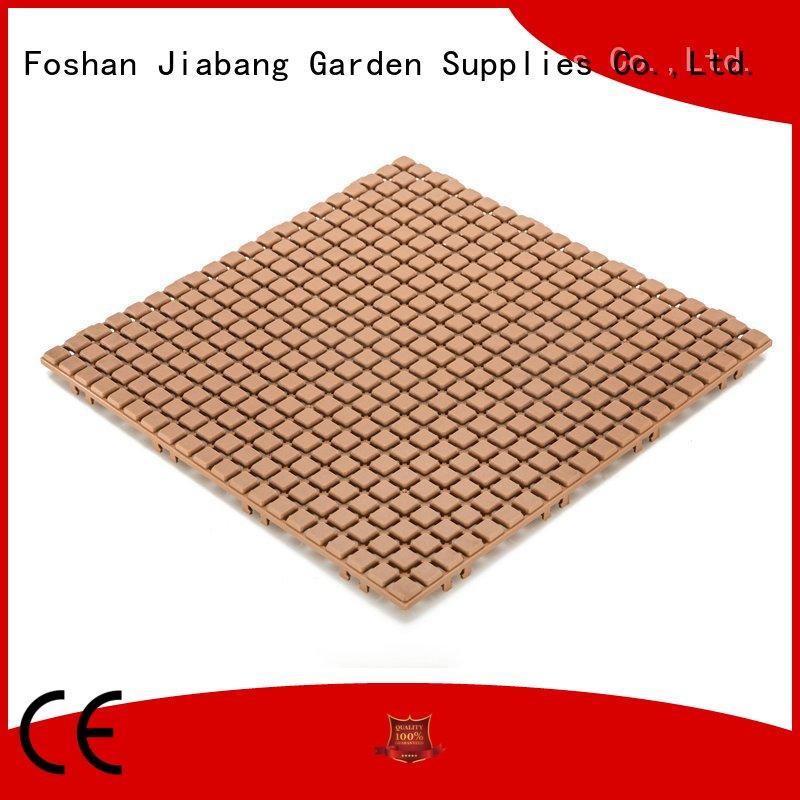 JIABANG flooring outdoor plastic tiles kitchen flooring