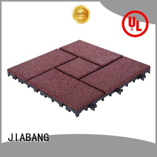 JIABANG highly-rated interlocking rubber tiles for gym flooring house decoration