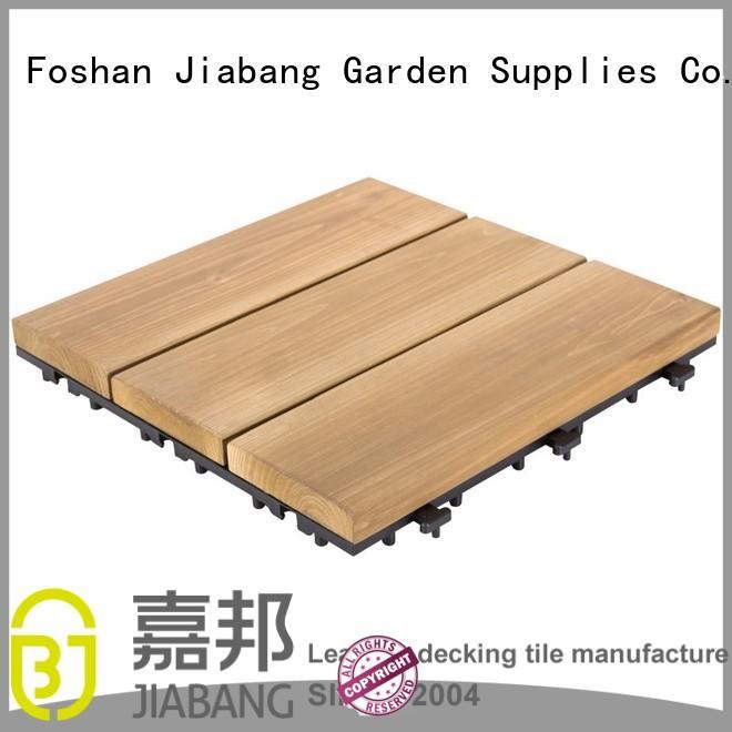 Quality JIABANG Brand tiles interlocking flooring wood interlocking wood deck tiles