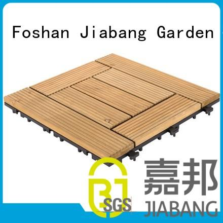 JIABANG natural wooden decking squares long size wooden floor