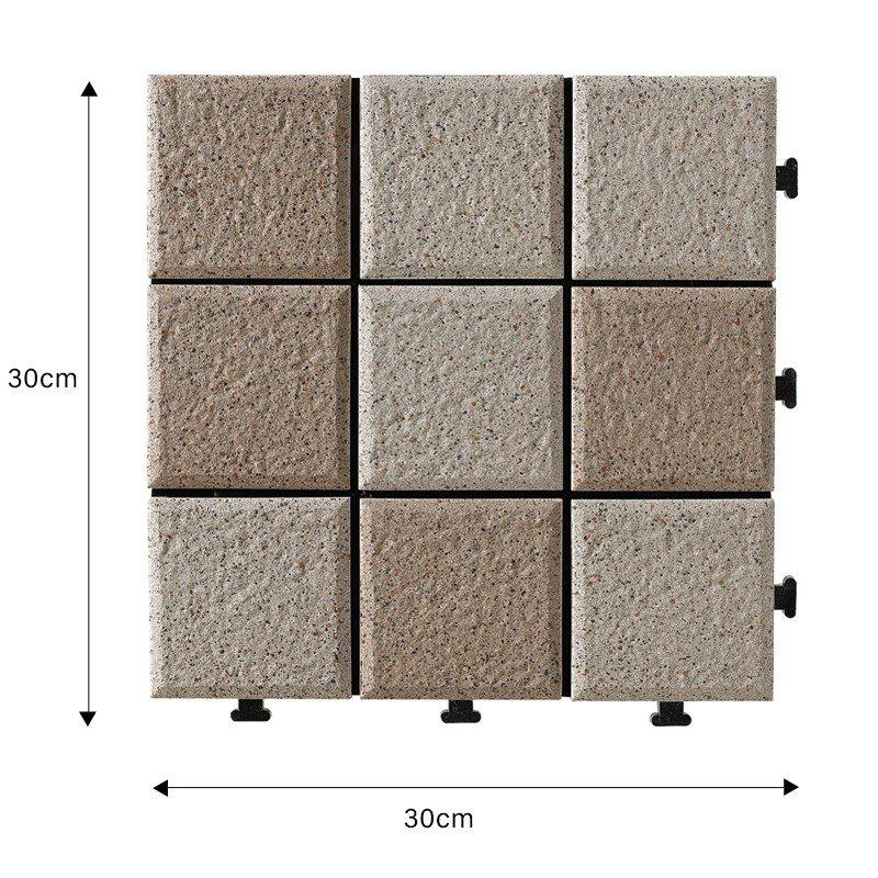 1.0cm ceramic outside flooring deck tile JBH006-1