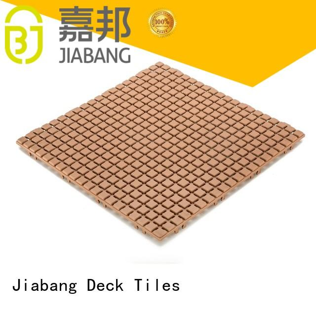 plastic interlocking deck tiles top-selling for customization
