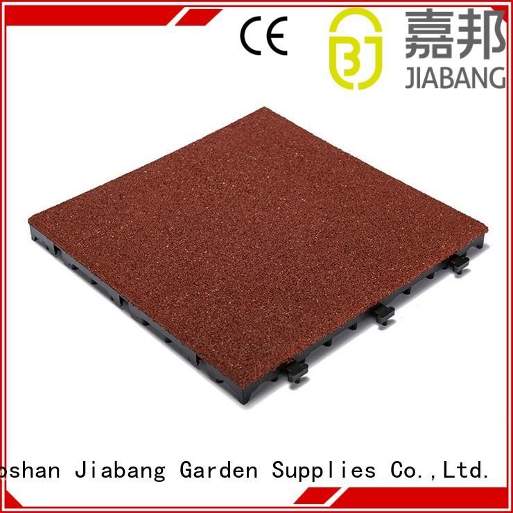 composite interlocking rubber mats cheap house decoration JIABANG