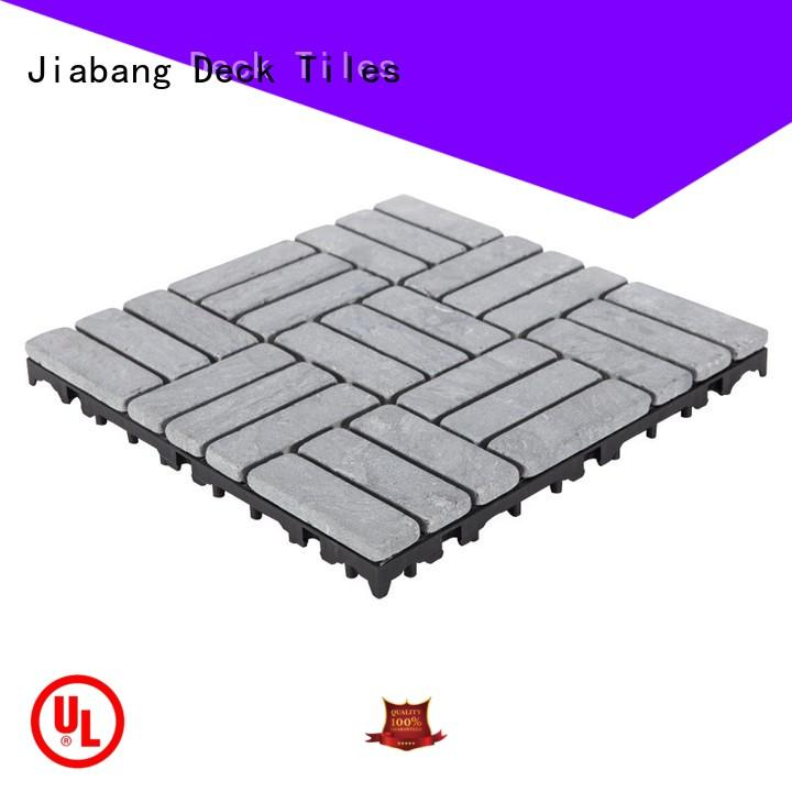 JIABANG outdoor polished travertine tile at discount for playground