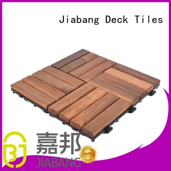 JIABANG acacia tile flooring cheapest factory price at discount